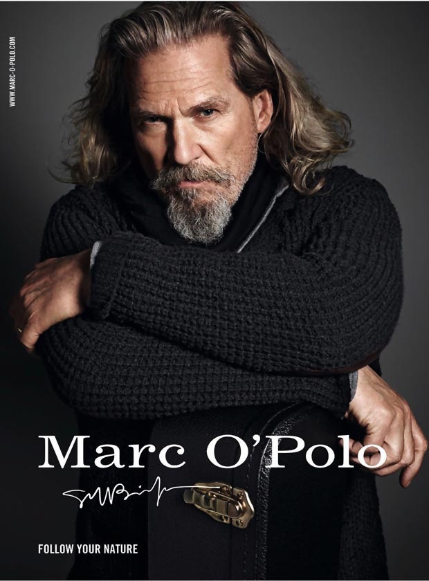 big lebowski and a supermodel wear marc o 39 polo this fall stylefrizz. Black Bedroom Furniture Sets. Home Design Ideas