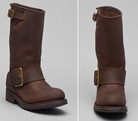 Jeffrey Campbell Motorcycle boot brown