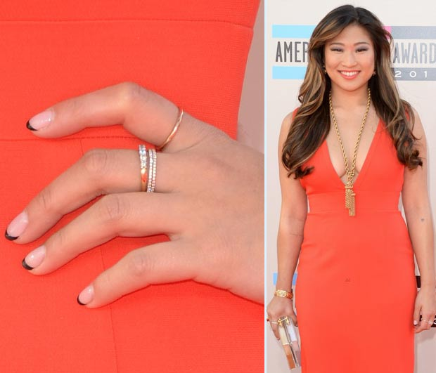 Jenna Ushkovitz nails 2013 AMAs