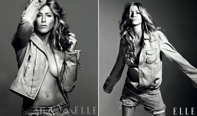 Jennifer Aniston's Elle US September 2009