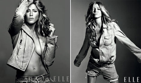 Jennifer Aniston Elle September 2009