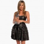 Jennifer Aniston People s Choice Awards 2013 leather winner