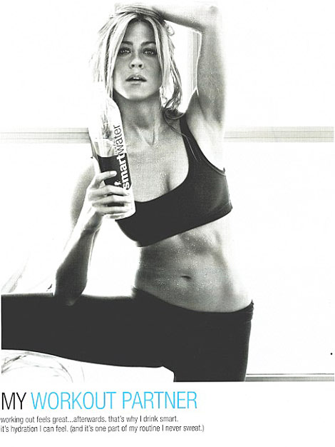 Jennifer Aniston's Smart Water Ad