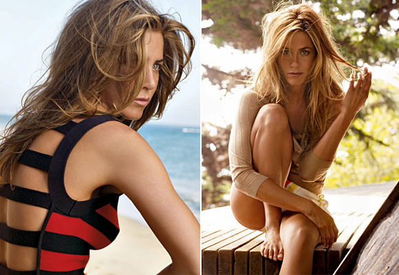 Jennifer Aniston's Vogue December 2008 Vs. Angelina Jolie's Vogue January 2007