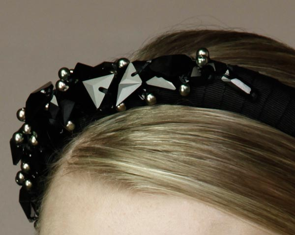 Jennifer Behr Fall 2009 headbands collection 1
