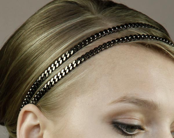 Jennifer Behr Fall 2009 headbands collection 3