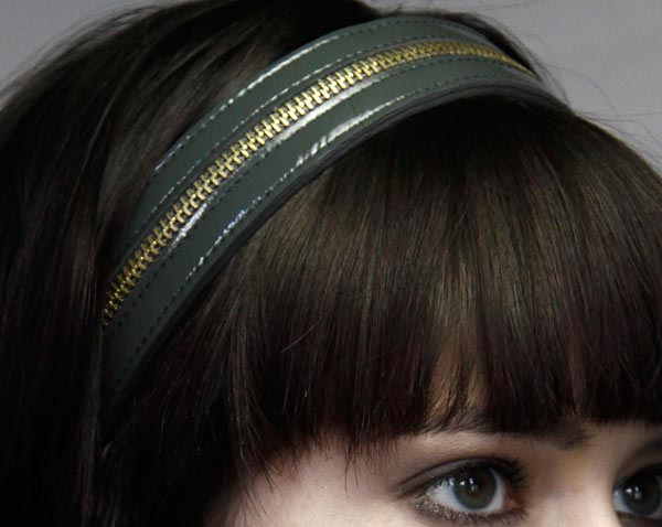 Jennifer Behr Fall 2009 headbands collection 4
