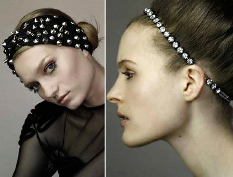 Jennifer Behr Fall 2009 headbands collection