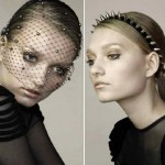 Jennifer Behr Fall 2009 spikes headbands