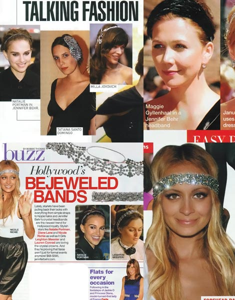 Jennifer Behr headbands Natalie Nicole
