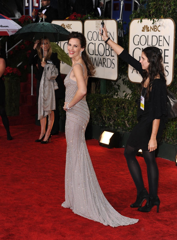 Jennifer Garner Golden Globes 2010 2