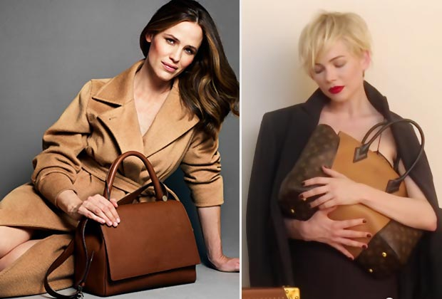 Jennifer Garner MaxMara Michelle Williams Louis Vuitton campaigns
