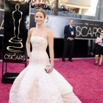 Jennifer Lawrence 2013 Oscars Dior dress