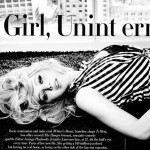 Jennifer Lawrence black and white Vanity Fair
