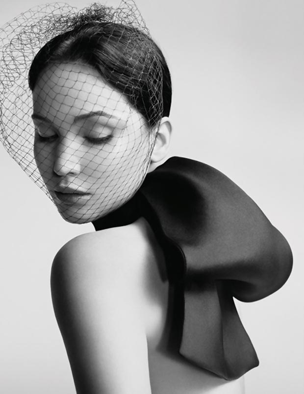 Jennifer Lawrence flawless Dior ad campaign