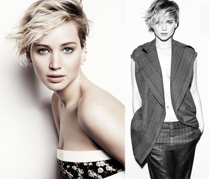 Jennifer Lawrence Marie Claire June 2014 pictorial