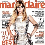 Jennifer Lawrence Marie Claire South Africa January 2013
