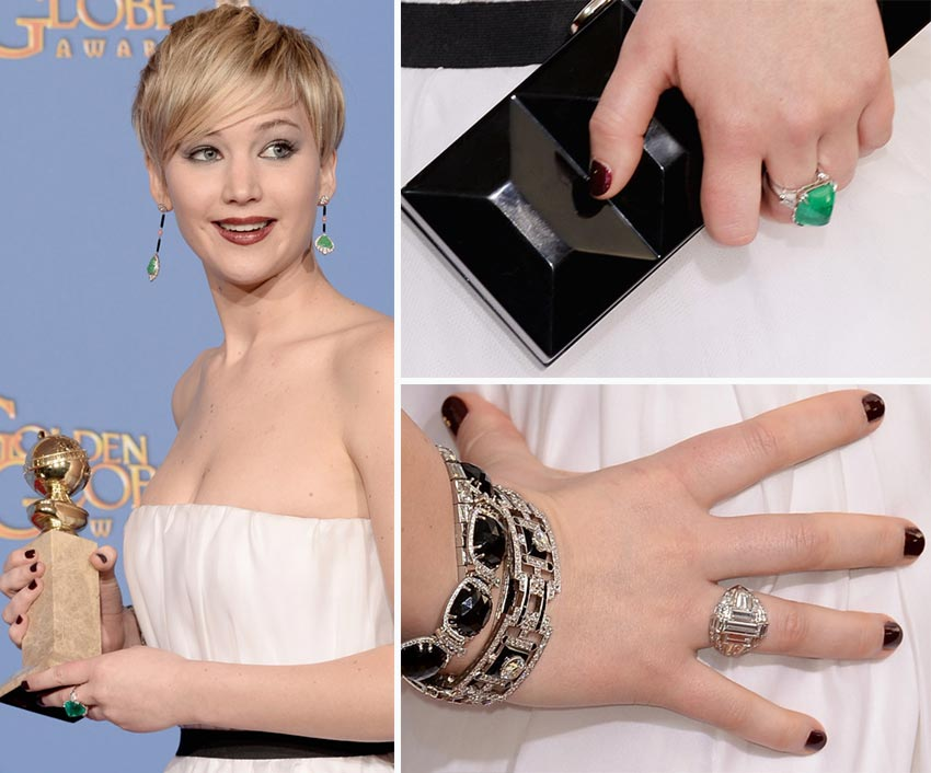 Red Carpet Nails 2014 Golden Globes