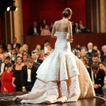 Jennifer Lawrence Oscars 2013 win on stage
