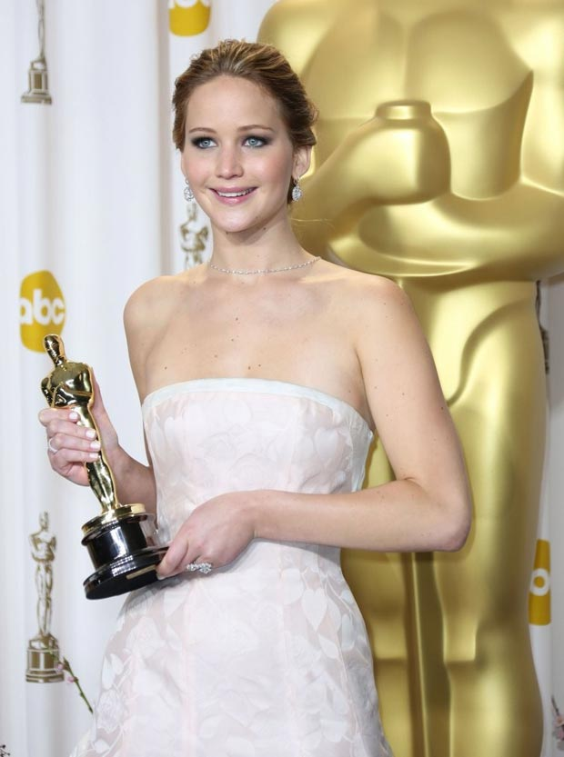 Jennifer Lawrence Oscars 2013 winner