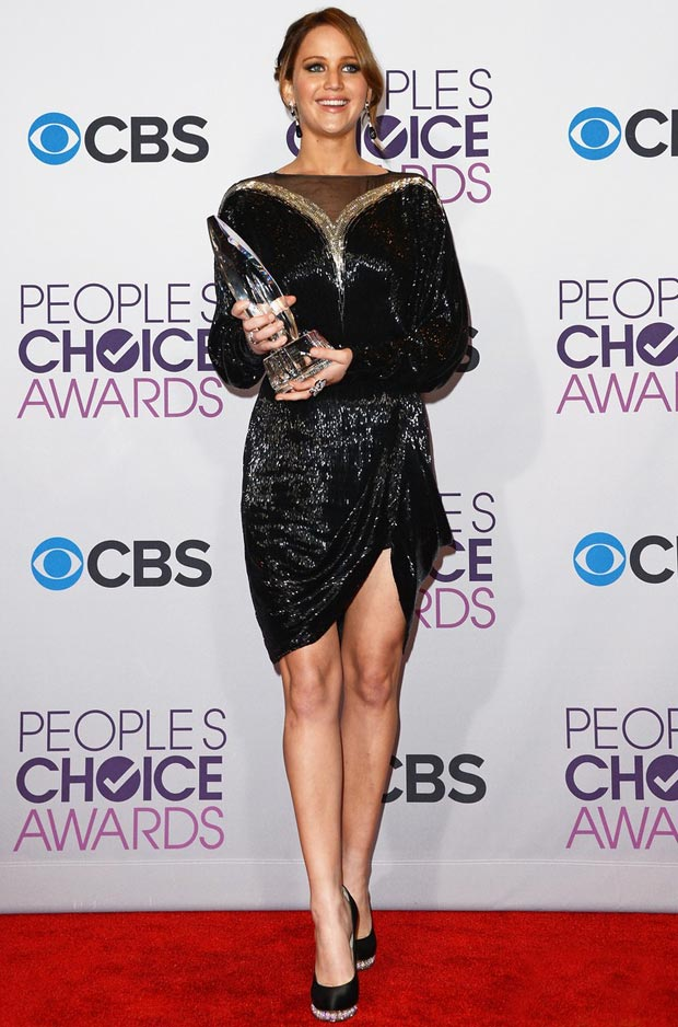 Jennifer Lawrence won People s Choice Award 2013