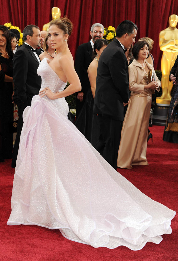 Jennifer Lopez Armani prive Dress 2010 Oscars 1