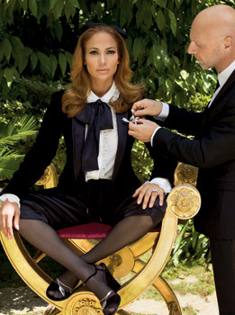 Jennifer Lopez Elle US October 2008 Domenico Dolce