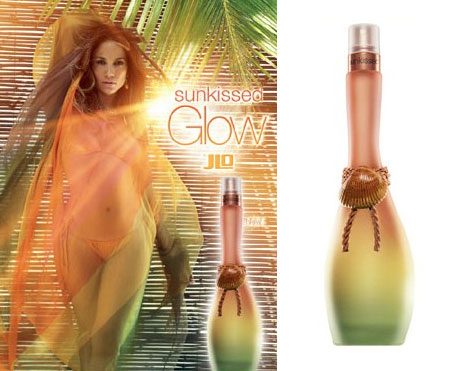 Jennifer Lopez Has A Sunkissed Glow Perfume Ad