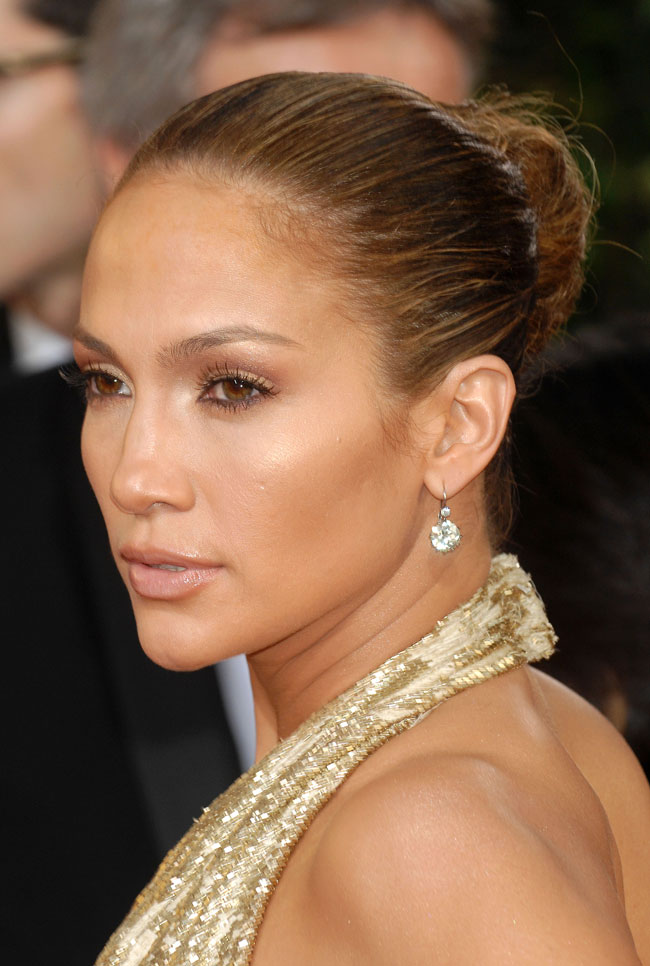 Jennifer Lopez Marchesa dress Golden Globe Awards 2009 1