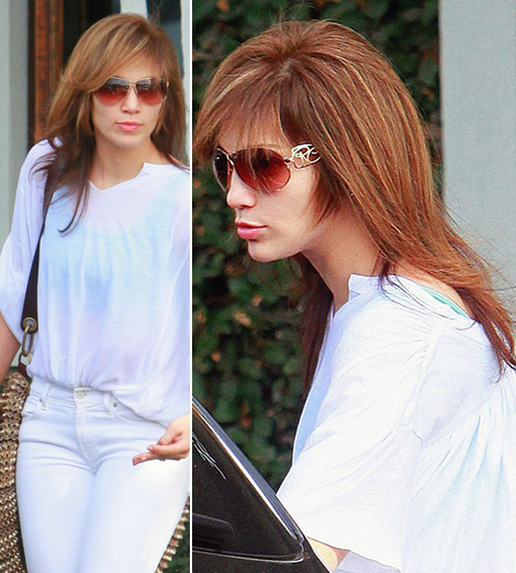 Jennifer Lopez New Haircut