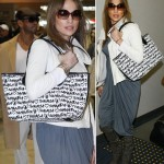 Jennifer Lopez Samantha Thavasa bag