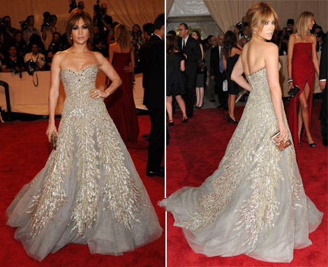Jennifer Lopez Zuhair Murad dress Met Gala 2010
