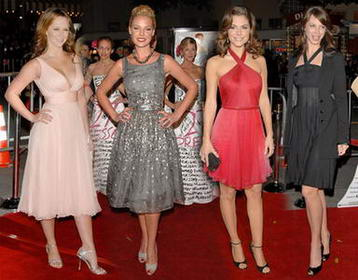 Jennifer Love Hewitt, Katherine Heigl, Maria Menounous, Christy Turlington