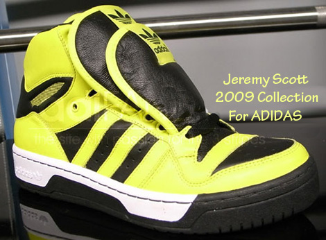 Jeremy Scott Adidas 2009 collection