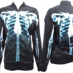 Jeremy Scott Adidas Skeleton track top
