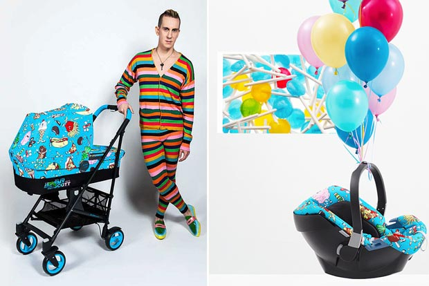 Jeremy Scott Cybex Stroller collection