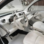 Jeremy Scott s car Smart ForJeremy white interior