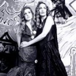 Jerry Hall and Georgia May Vivienne Westwood Opus
