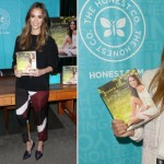 Jessica Alba book The Honest Life launch