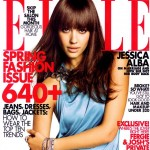Jessica Alba Elle US March09 cover large