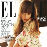 Jessica Alba Elle US March09 subscribers cover