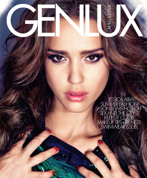 Jessica Alba The Child Woman From Genlux Magazine