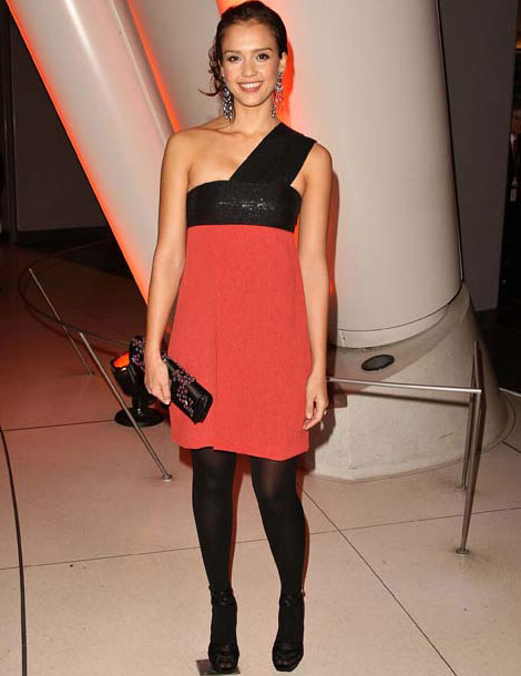 Pantyhose celebrities: Jessica Alba tights :  shopping warren cash actor