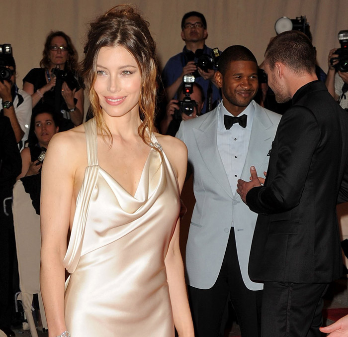 Jessica Biel Ralph Lauren dress Met Gala 2010 2