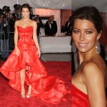 Jessica Biel Versace Dress Met Gala 2009