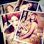 Jessica Chastain covers W January 2013