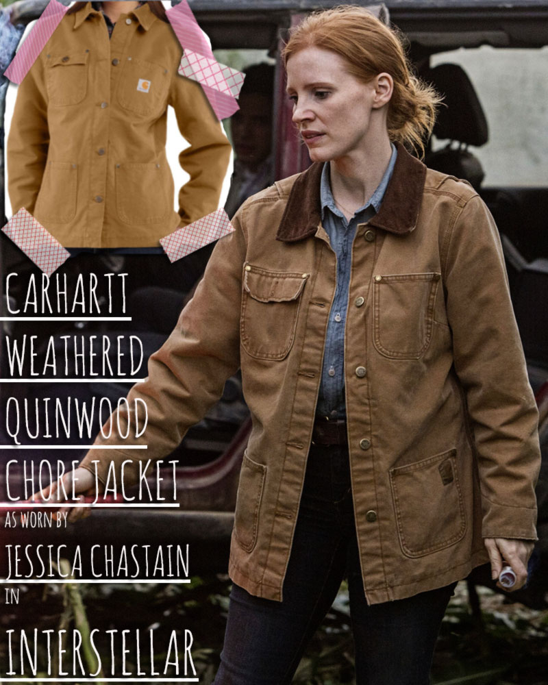 Jessica Chastain Interstellar Carhartt Jacket