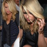 Jessica simpson Henna Tattoo