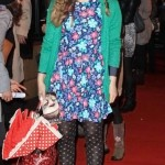 Jessie Cave flowers print dress