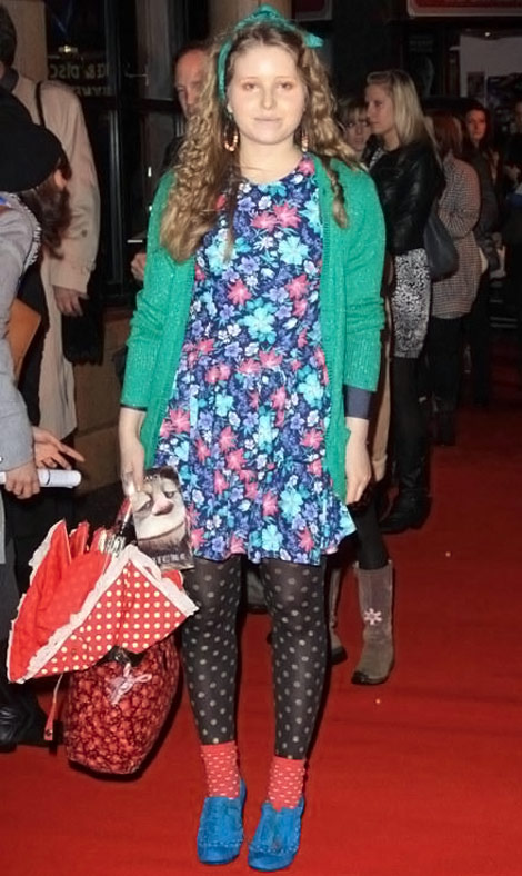 Jessie Cave's Flowers And Polka Dots Disaster